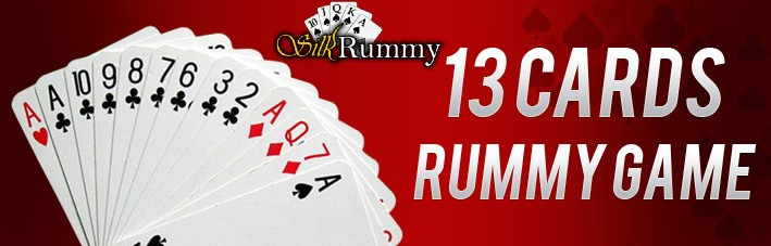 play 13 card rummy online game at silkrummy