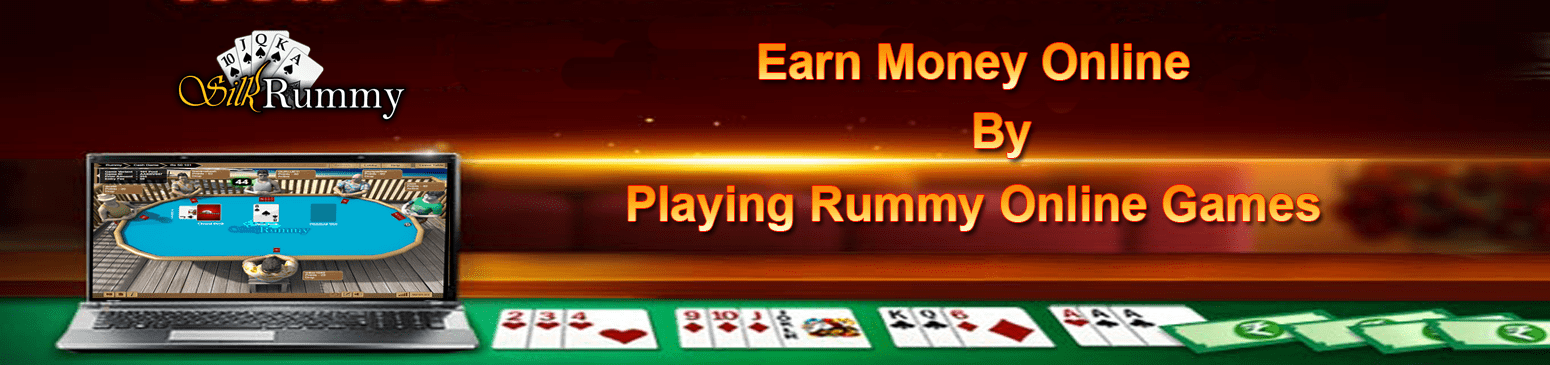 Earn Money Online by Playing Rummy Games