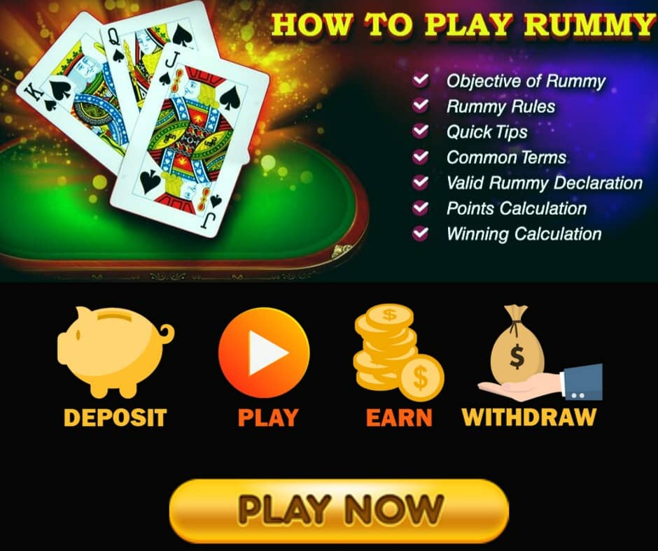How to play the Rummy game: Rummy rules and guide to play Rummy