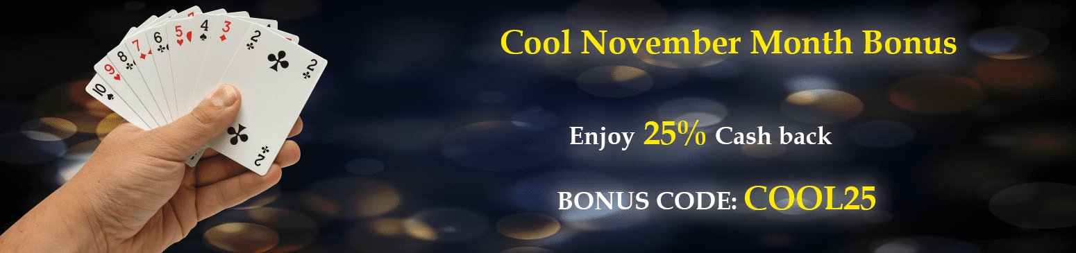 Cool november monthly rummy bonus offer
