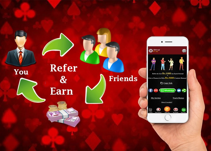 Refer Your Circle of Rummy Friends and Win Big Cash prizes