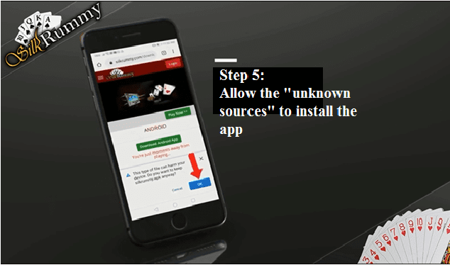 Rummy apk download settings - Allow the unknown sources