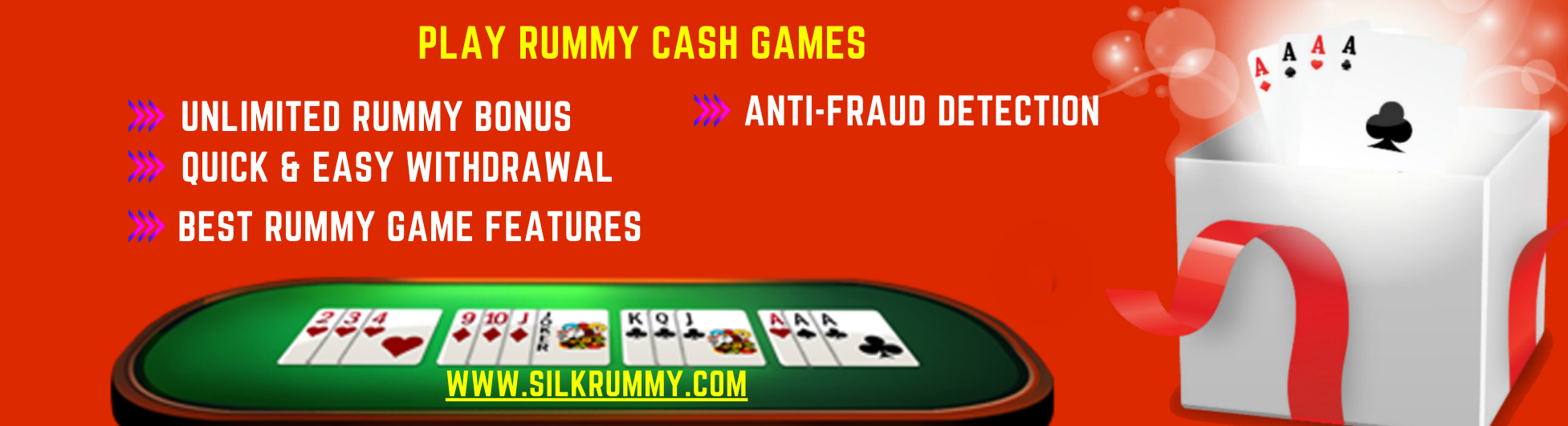 Play Rummy Cash Games - Silkrummy