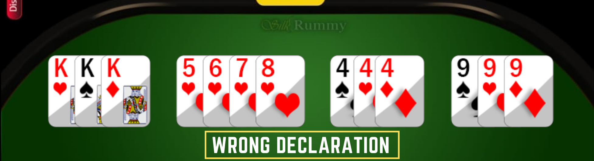 How to Play Rummy- Learn Rummy Rules- Rummy Game Wrong declaration